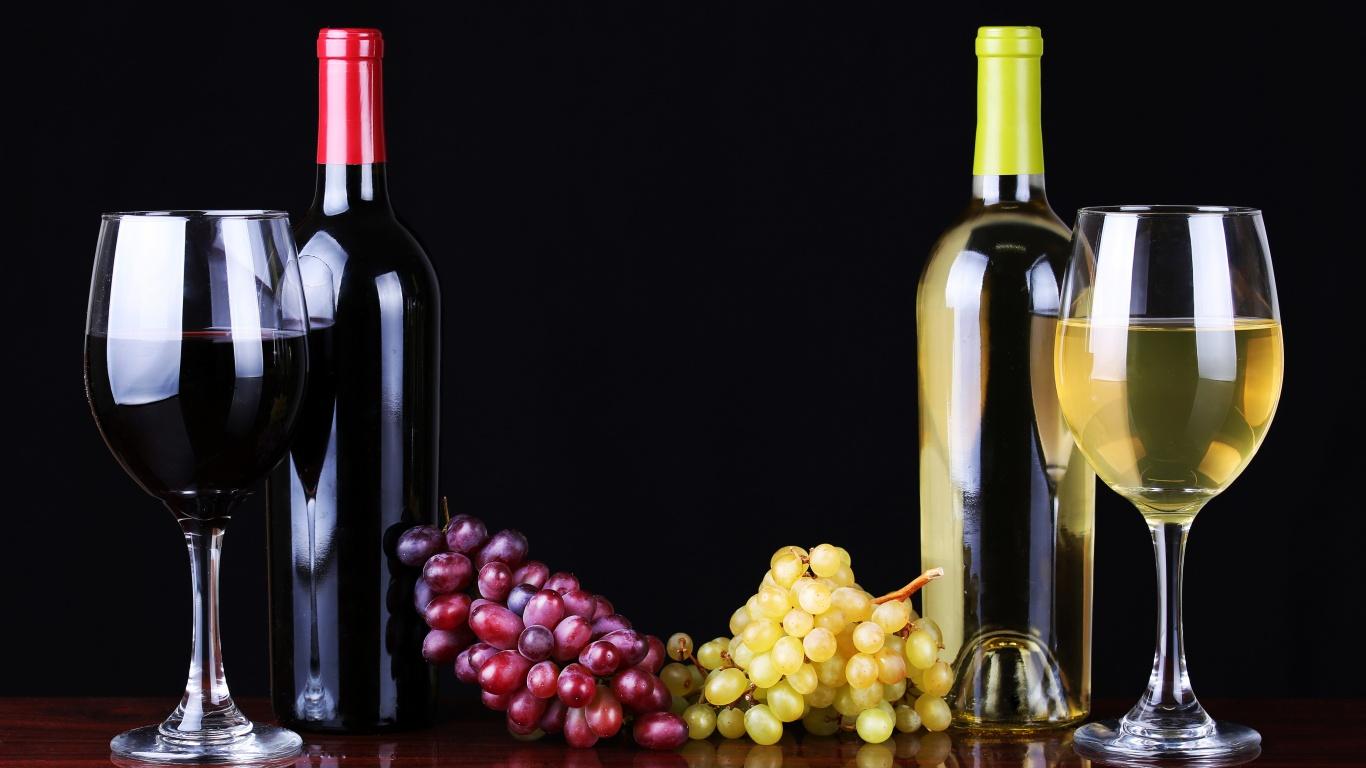 vino-butylki-beloe-krasnoe
